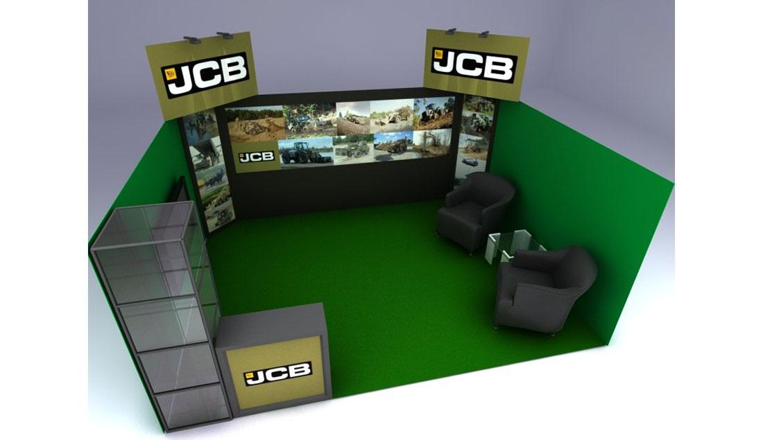 JCB-stend